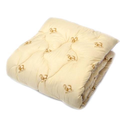 Одеяло Овечья шерсть 300 гр/м2 чехол хлопок 140/205 см фото 1