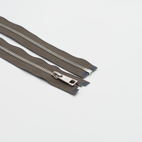 Молния металл №5СТ никель разьем 75см D034 серый фото 1
