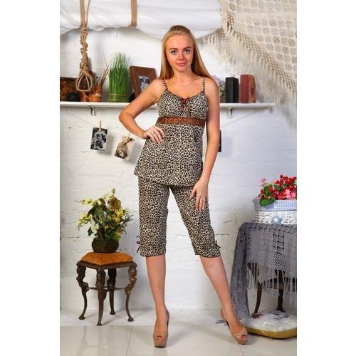 Пижама Царица Бриджи Леопард Б7 р 54 фото 1