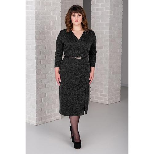 Платье 0266-11 цвет Черный р 50 фото 1