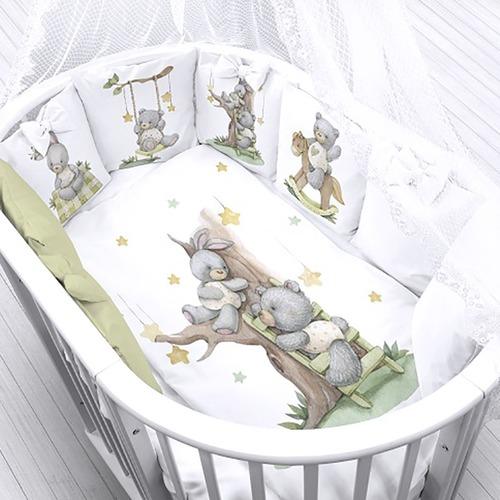 Ткань на отрез перкаль детский 112/150 см 23 На прогулке (1 пододеяльник) фото 1
