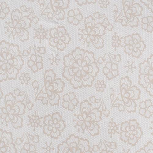 Простыня трикотажная на резинке Премиум цвет цветы26 160/200/20 см фото 2