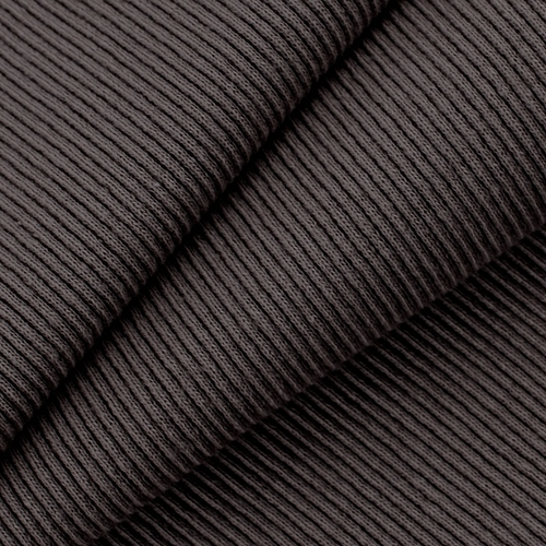 Ткань на отрез кашкорсе с лайкрой 19-1018 цвет темно-коричневый фото 1