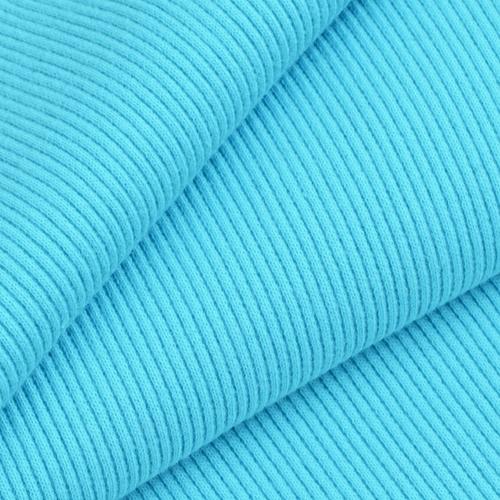 Ткань на отрез кашкорсе с лайкрой 1-250 цвет бирюзовый фото 1