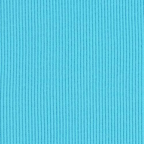 Ткань на отрез кашкорсе с лайкрой 1-250 цвет бирюзовый фото 3