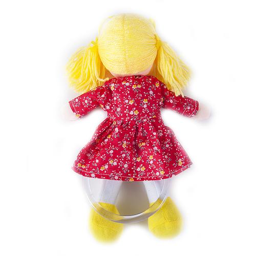 Кукла-вешалка интерьерная 35 рост 27 см расцветки в ассортименте фото 2