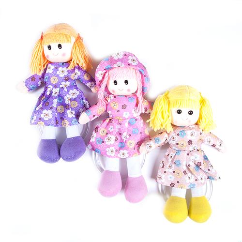 Кукла-вешалка интерьерная 35 рост 27 см расцветки в ассортименте фото 3