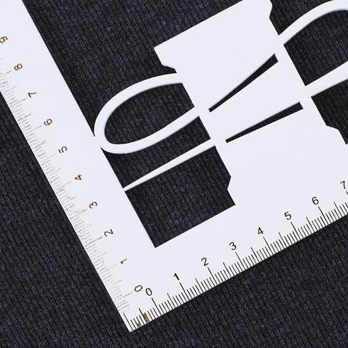 Ткань на отрез кашкорсе с лайкрой 1206-1 цвет антрацит фото 2