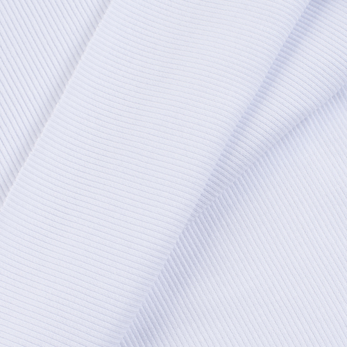 Ткань на отрез кашкорсе с лайкрой 1306-1 цвет белый фото 4