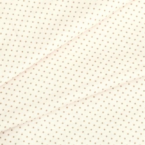Мерный лоскут кулирка пенье Пшено по выкрасам R165 цвет экрю 0.7 м фото 1