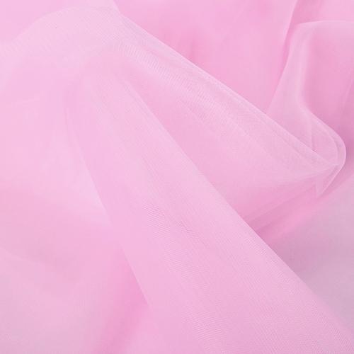Еврофатин мягкий матовый Hayal Tulle HT.S 300 см цвет 69 бледно-розовый фото 4