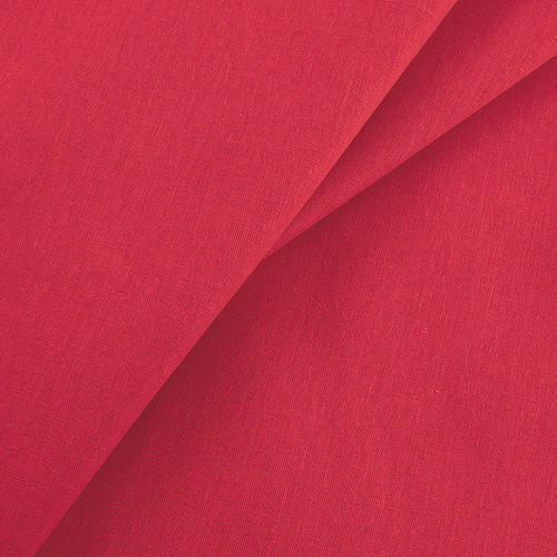 Ткань на отрез бязь гладкокрашеная ГОСТ 150 см цвет красный активное крашение фото 1
