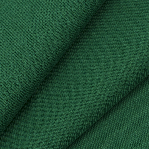 Ткань на отрез рибана цвет зеленый фото 1