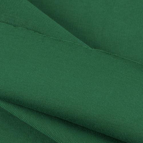 Ткань на отрез рибана цвет зеленый фото 2
