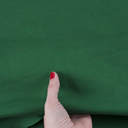 Ткань на отрез рибана цвет зеленый фото 3