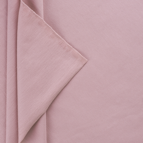 Ткань на отрез футер петля с лайкрой 05-12 цвет розовый фото 1