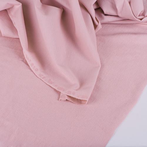Ткань на отрез футер петля с лайкрой 05-12 цвет розовый фото 2