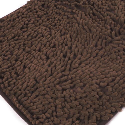 Коврик для ванной Makaron 50/80 цвет коричневый фото 1