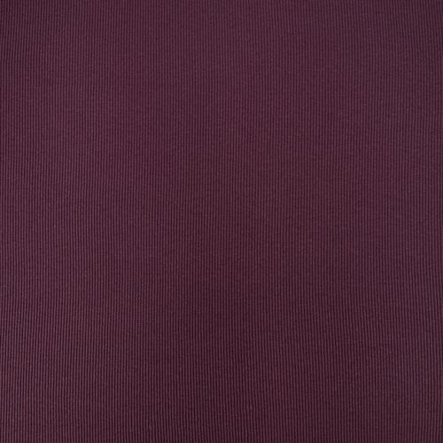 Ткань на отрез кашкорсе с лайкрой 1702-1 цвет темно-лиловый фото 2