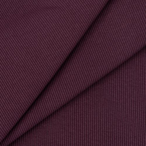 Ткань на отрез кашкорсе с лайкрой 1702-1 цвет темно-лиловый фото 1