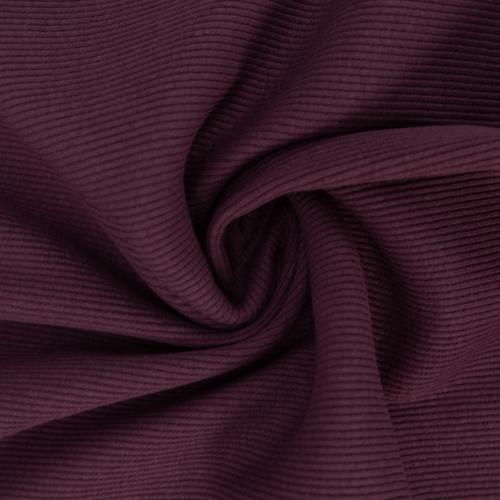 Ткань на отрез кашкорсе с лайкрой 1702-1 цвет темно-лиловый фото 3
