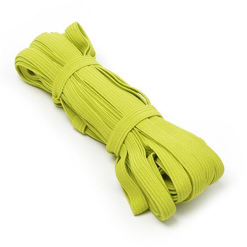 Резинка-продежка 10мм С1049Г7 цвет салатовый 10/10 уп 10 м фото 1