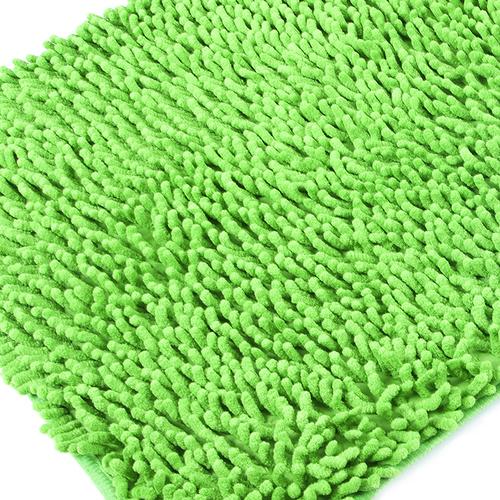 Коврик для ванной Makaron 40/60 цвет зеленый фото 1