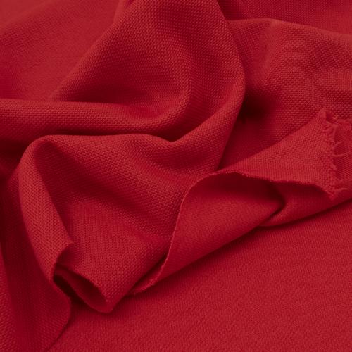 Ткань на отрез лакоста цвет красный фото 3