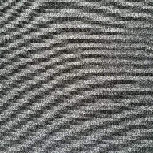 Ткань на отрез кашкорсе 3-х нитка с лайкрой меланж цвет черный фото 1