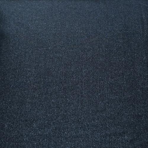 Ткань на отрез кашкорсе 3-х нитка с лайкрой меланж цвет синий фото 1