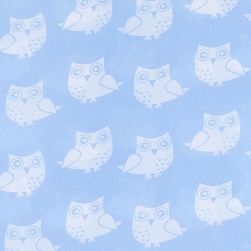 Бязь плательная 150 см 1682/3 цвет голубой фото 1