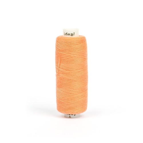Нитки бытовые IDEAL 40/2 366м 100% п/э, цв.149 персиковый фото 1