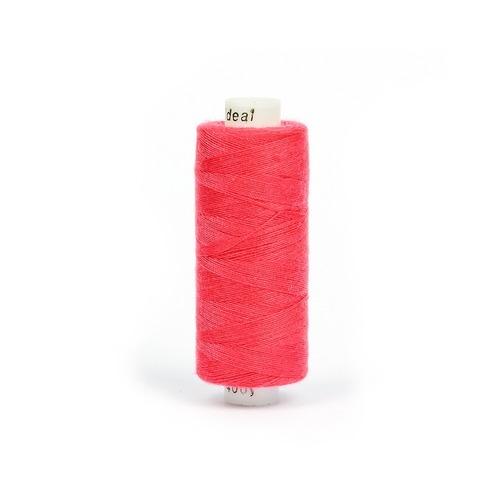 Нитки бытовые IDEAL 40/2 366м 100% п/э, цв.158 розовый фото 1