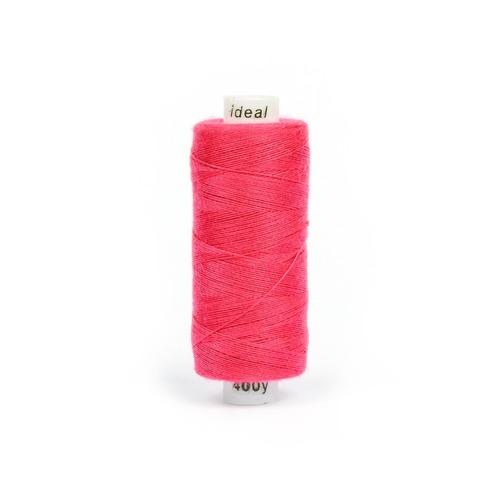 Нитки бытовые IDEAL 40/2 366м 100% п/э, цв.178 розовый фото 1