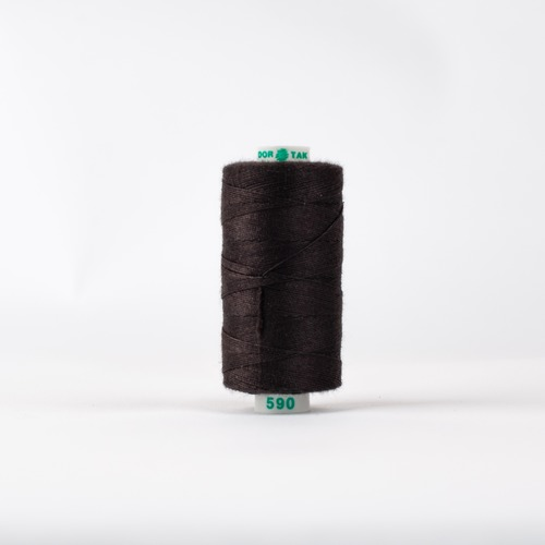 Нитки бытовые Dor Tak 20/3 джинсовые 183м 100% п/э, цв.590 фото 1