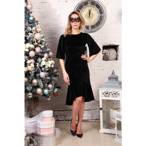 Платье Ида черное Д513 р 56 фото 1
