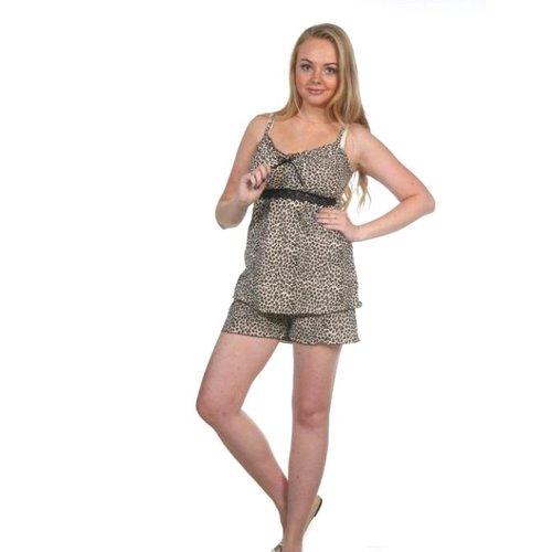 Пижама Царица Шорты Леопард Б16 р 46 фото 1