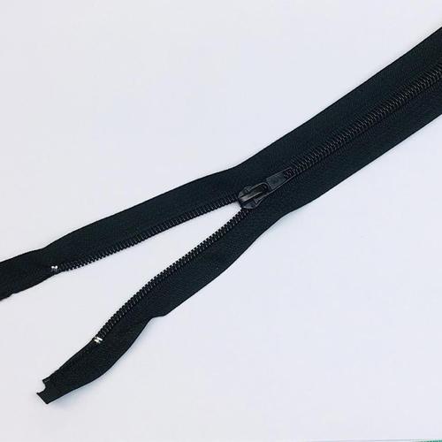 Молния обувная спираль №7 н/р 25см G322 черная фото 1