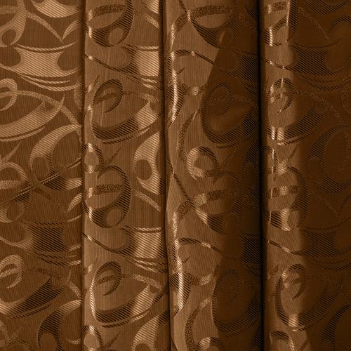 Маломеры портьерная ткань 150 см 10-1 цвет коричневый 1,7 м фото 1