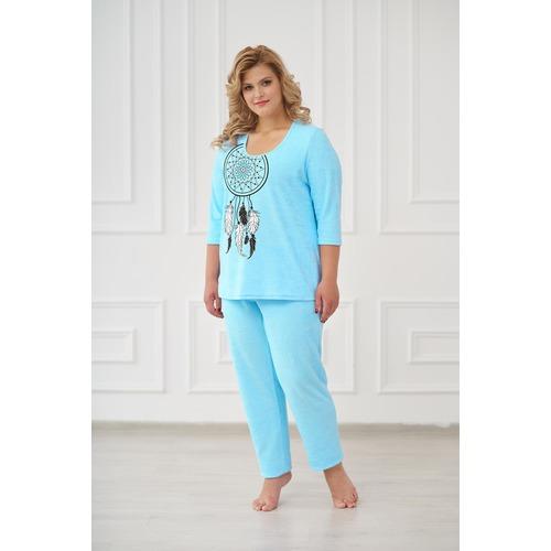 Пижама 0661 цвет Бирюза р 42 фото 1