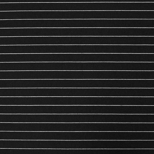 Маломеры футер с лайкрой Жаккард цвет черный 0.65 м фото 1