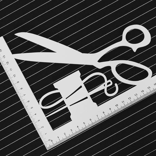 Маломеры футер с лайкрой Жаккард цвет черный 0.65 м фото 2