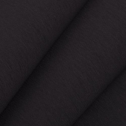 Маломеры футер 3-х нитка компакт пенье цвет черный 0.9 м фото 2