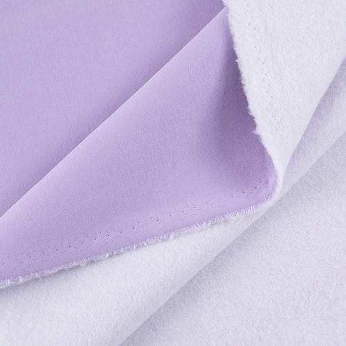 Маломеры футер 3-х нитка компакт пенье цвет светло-лиловый 0.8 м фото 1
