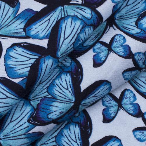 Маломеры кулирка R6122-V2 Бабочки 1 м фото 2