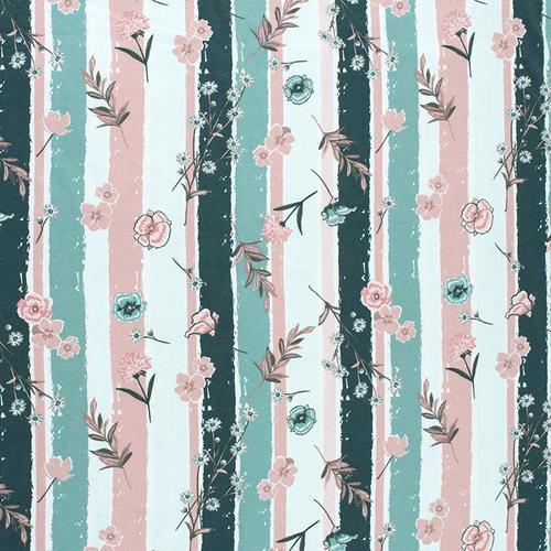 Маломеры кулирка Луговые цветы R8064-V2 1 м фото 1