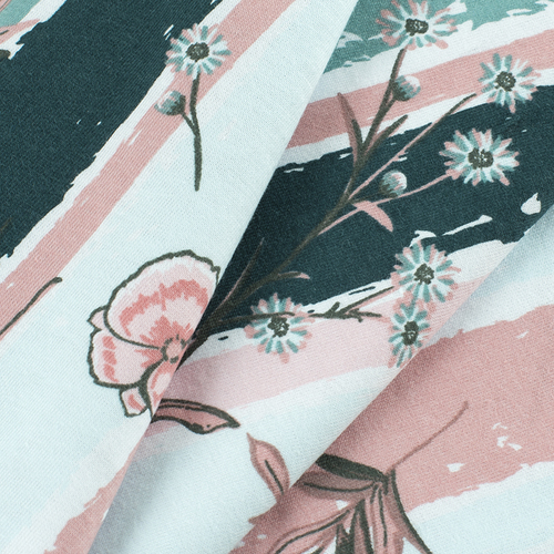 Маломеры кулирка Луговые цветы R8064-V2 1 м фото 2