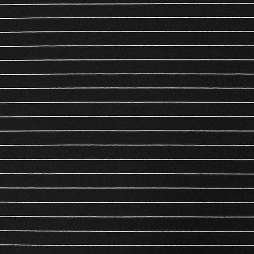 Маломеры футер с лайкрой Жаккард цвет черный 1 м фото 1