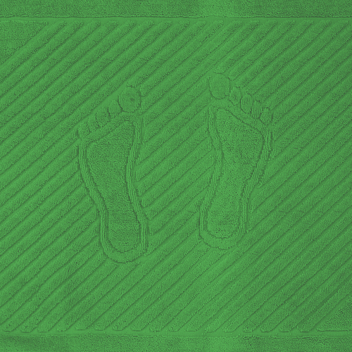 Полотенце махровое ножки 700 гр/м2 Туркменистан 50/70 см цвет молодая зелень фото 1