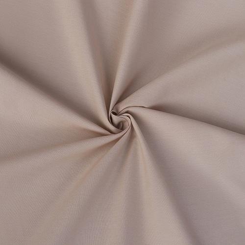Ткань на отрез поплин гладкокрашеный 220 см 115 гр/м2 31007/21044 цвет латте фото 1
